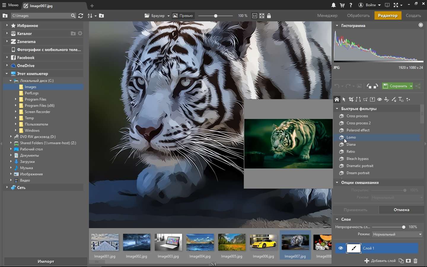 Zoner Photo Studio X 19.1610.2.7 (2016) PC |  RePack by KpoJIuK