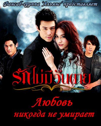 Любовь никогда не умирает / Love Never Dies / Rak Mai Mee Wan Tay [11/11] [Таиланд, 2011, романтика, драма, фэнтези, TVRip] [480p] VO (sandairina)