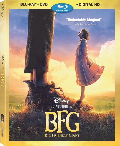 Большой и добрый великан / The BFG (2016) BDRip 1080p | Лицензия