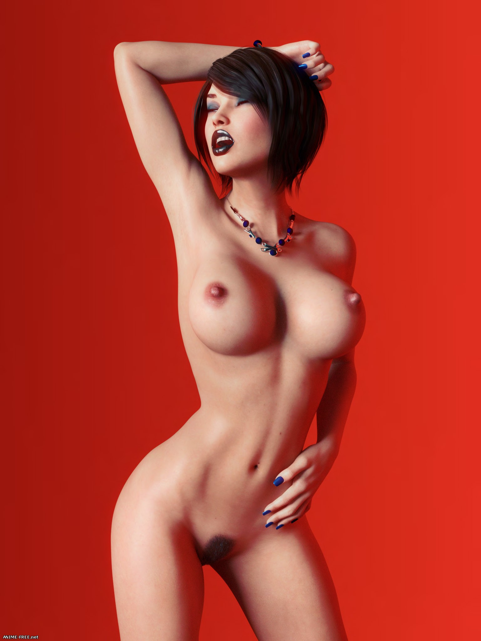 Collection Works (Miki3DX) [Uncen] [3DCG] [JPG] Hentai ART