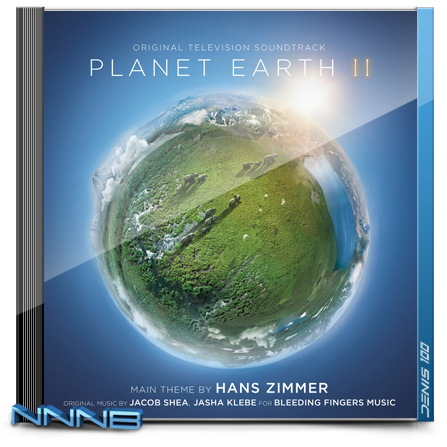 OST - Планета Земля 2 / Planet Earth II [Hans Zimmer, Jacob Shea, Jasha Klebe] (2016) MP3 от NNNB