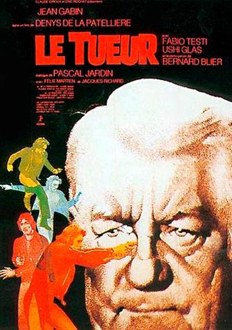 Убийца / Le tueur (Дени Де Ла Пательер / Denis De La Patelliere) [1972, Триллер, детектив, DVDRip] VO + Original