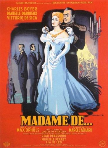 Мадам де… / Madame de... / The Earrings of Madame de... (Макс Офюльс / Max Ophuls) [1953, Франция, Италия, драма, мелодрама, HDRip] AVO (Янкелевич) + Sub Rus, Eng + Original Fre