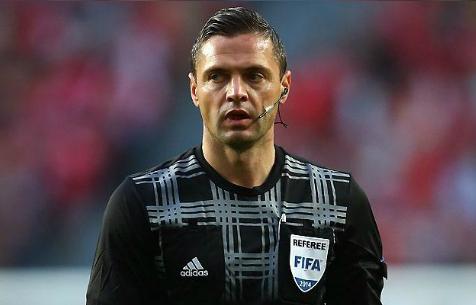 Дамир Скомина назначен арбитром на матч против