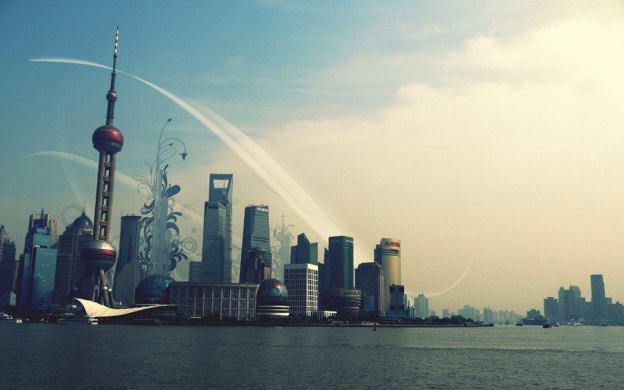 Шанхайские пейзажи