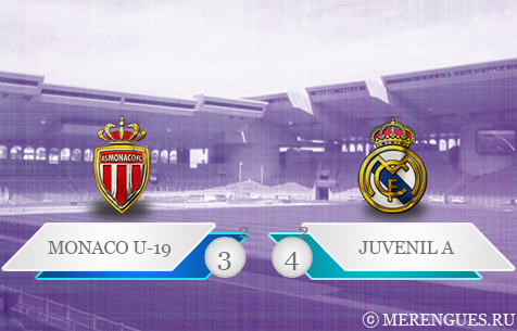 AS Monaco U-19 - Real Madrid Juvenil 3:4