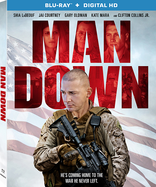 Война / Man Down (2016/HDRip)