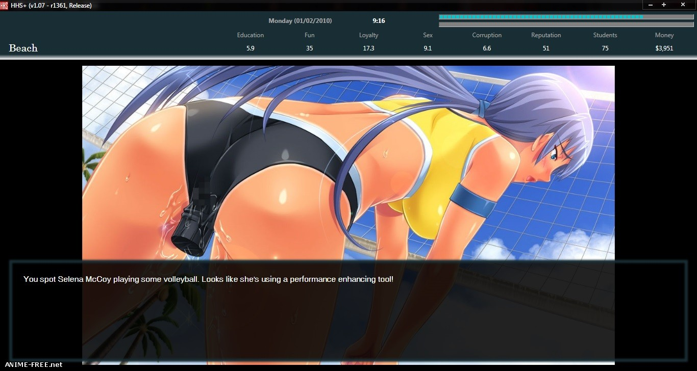 Hentai High School+ [2017] [Uncen] [ADV, Simulator] [ENG,RUS] H-Game