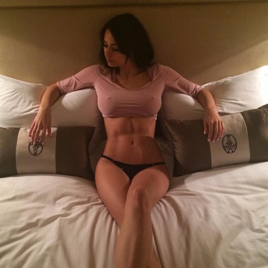 Возбужденная грудь