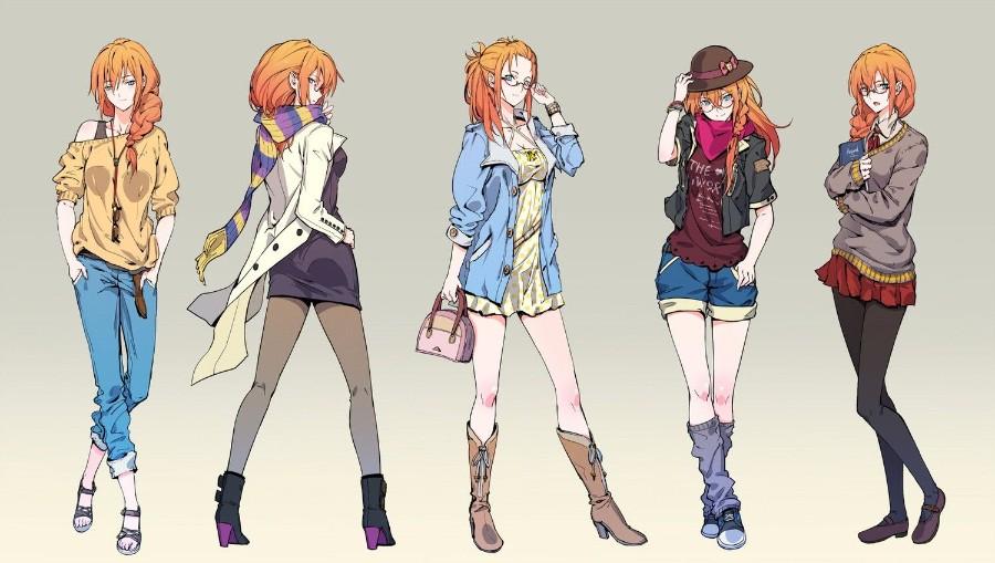 Разные наряды