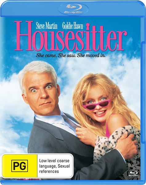 Домохозяйка / HouseSitter (1992) BDRemux 1080p | P, P2, A