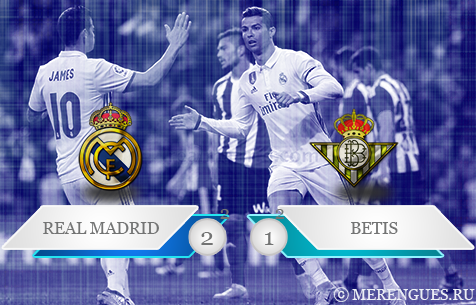 Real Madrid C.F. - Real Betis Balompie 2:1