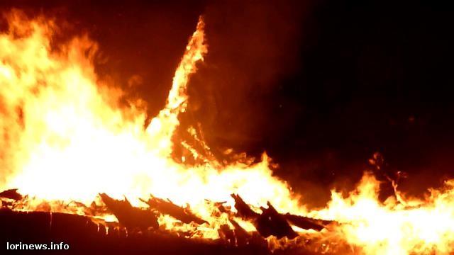 Խոշոր հրդեհ Լոռիում. Սեփական տուն է այրվել.(ֆոտո, վիդեո)