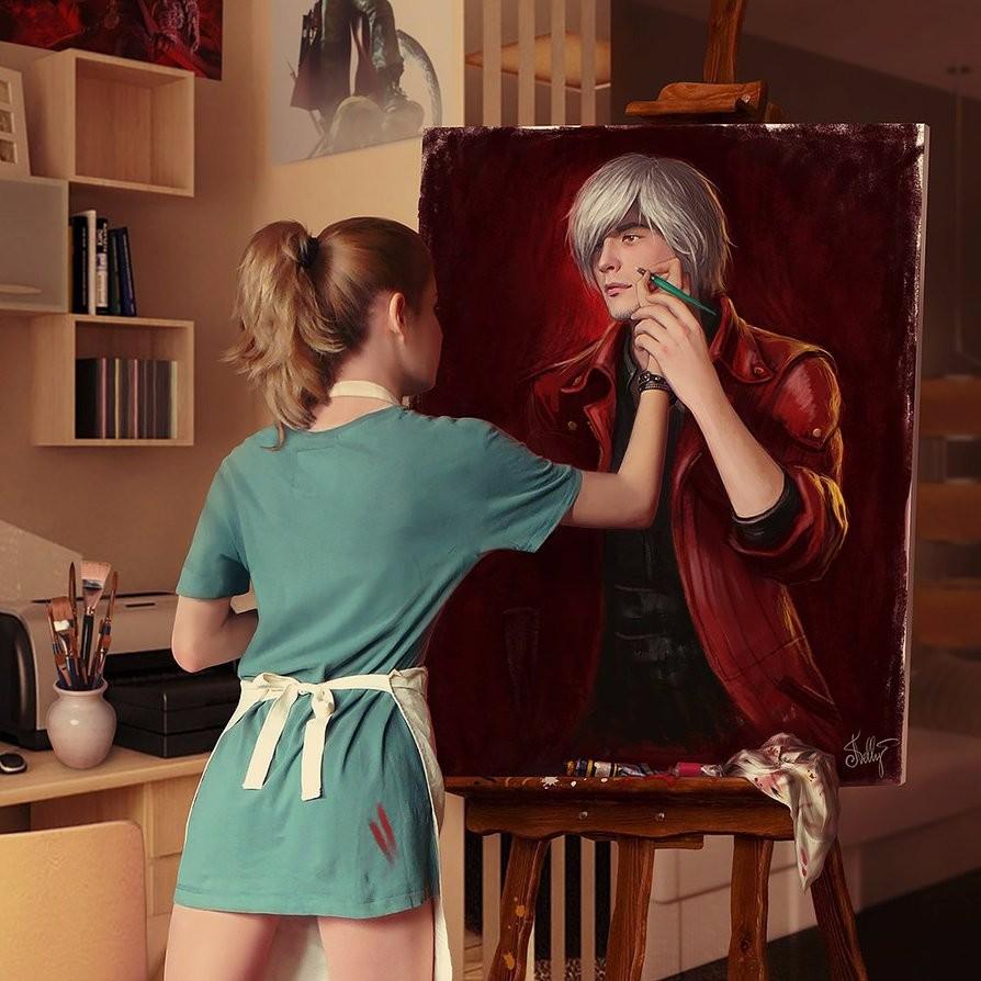 Рисуем Данте