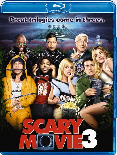 Очень страшное кино 3 / Scary Movie 3 (Дэвид Цукер / David Zucker) [2003, США, Канада, комедия, BDRip] [Unrated] Dub