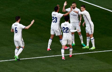 """""""Мадрид"""" - первый из испанских клубов, забивавший в 50 матчах кряду"""