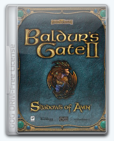 Baldur's Gate II: Shadows of Amn / Baldur's Gate 2: Тени Амна (2000) [Ru/En] (2.5.26461/dlc) License GOG [Complete]