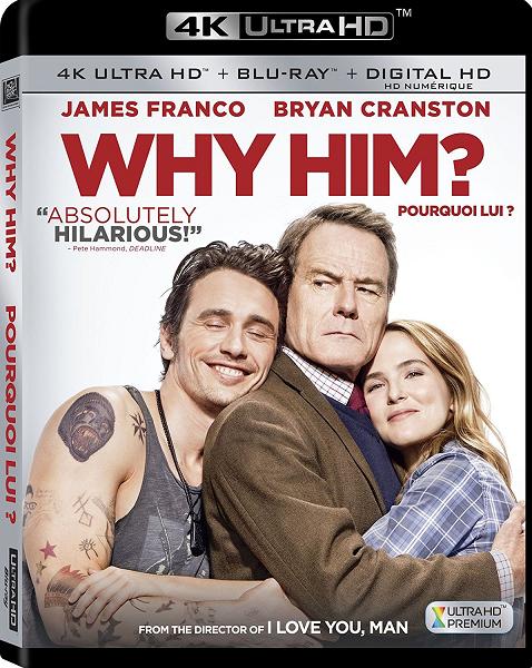 Почему он? / Why Him? (2016) BDRip 720p | Лицензия