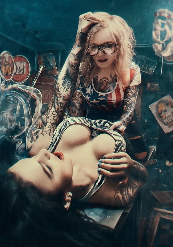 Digital art by Andrew White