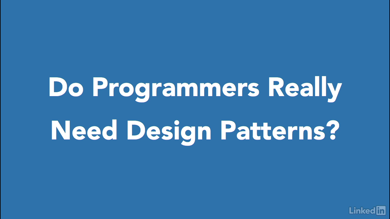 Lynda Intermediate C Design Patterns Part
