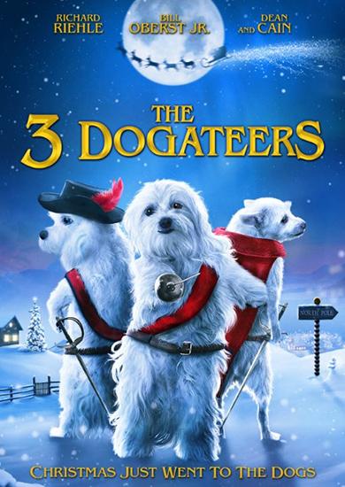 Три Гавкатёра / The Three Dogateers (Джесси Баже / Jesse Baget) [2014, США, Семейный, детский, DVB] DVO