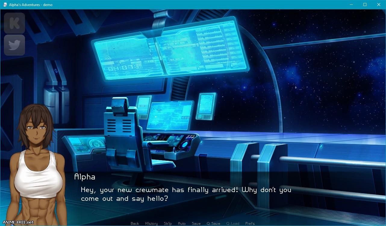 Alpha's Adventure [2017] [Uncen] [ADV, VN] [ENG] H-Game