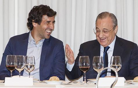 """Рауль займёт должность помощника генерального директора """"Мадрида"""""""