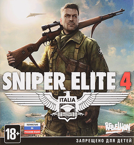 Sniper Elite 4: Deluxe Edition [v 1.4.1 + DLCs] (2017) PC | Лицензия