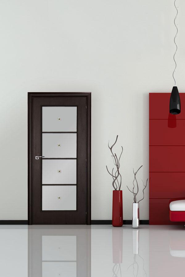 Межкомнатные двери в интерьере квартиры фото венге