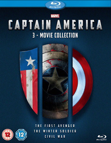 Captain America 3 Movie Collection [2011-2016] 1080p BluRay X264-ETRG