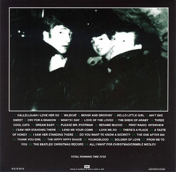 beatles, the artifacts- the definitive collection of beatles rarities : youngblood 1960-1963, 1994  (japanese min