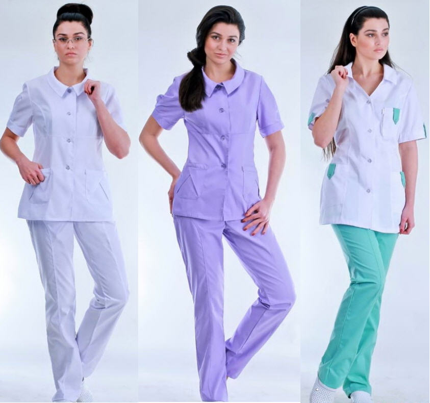 Медицинские костюмы – неотъемлемая атрибутика вашей клиники