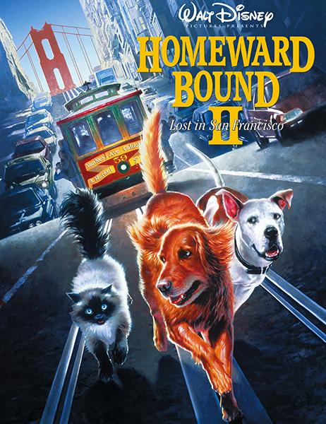 Дорога домой 2: Затерянные в Сан-Франциско / Homeward Bound II: Lost in San Francisco (1996) WEB-DL 720p   P, A