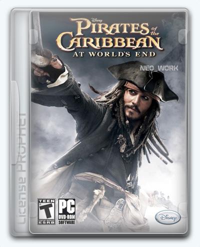 Pirates of the Caribbean: At World's End / Пираты Карибского моря. На краю света (2007) [Ru/Multi] (1.0) License PROPHET
