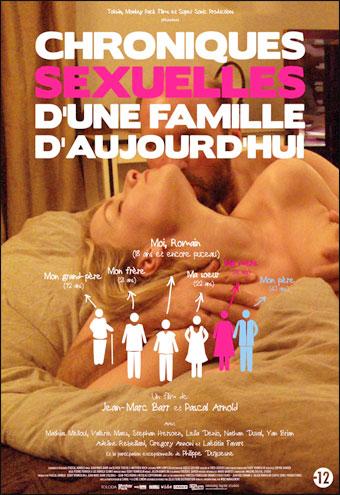 Постер:Сексуальные хроники французской семьи / Chroniques sexuelles d'une famille d'aujourd'hui (2012) HDRip
