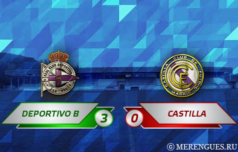 RC Deportivo Fabril - Real Madrid Castilla 3:0