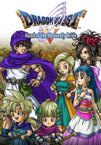 Dragon Quest V - Hand of the Heavenly Bride (2009) [NDS] [USA] FlashME [Unofficial] [Ru]