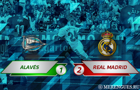 Deportivo Alavés S.A.D. - Real Madrid C.F. 1:2