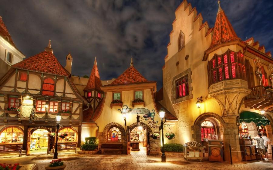 Европейская деревня