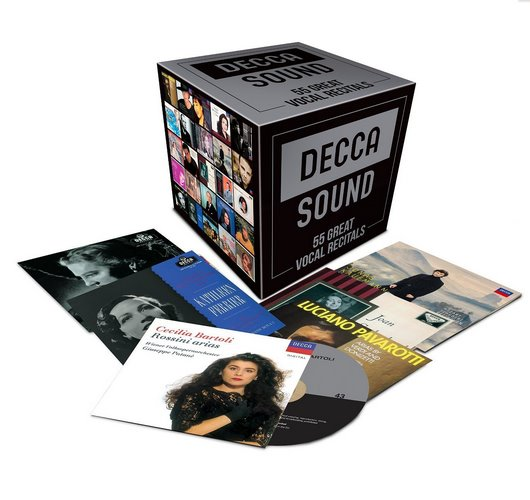 Decca Sound - 55 Great Vocal Recitals (Limited Edition) (2016)