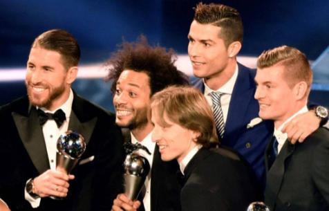 Пять Мадридистов попали в команду года по версии FIFA