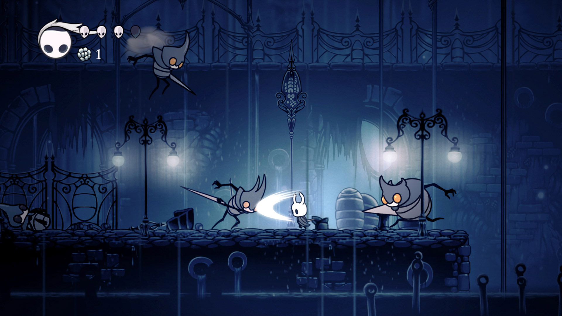 Hollow Knight [v 1.2.2.1 + 2 DLC] (2017) PC | RePack от xatab