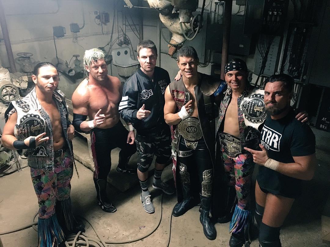 Стивен Амелл вышел на ринг Ring Of Honor