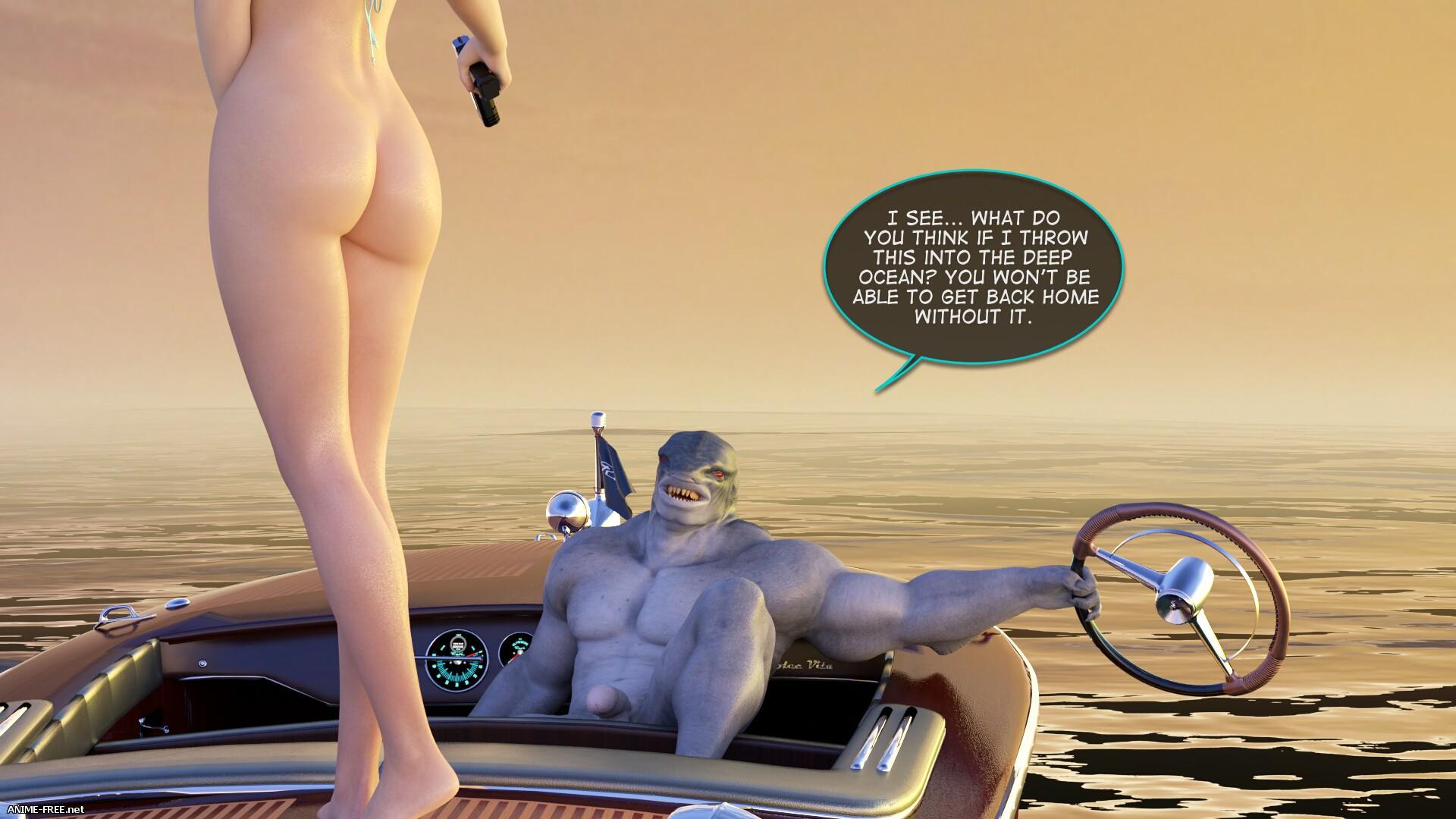 Velna Ocean Threat Deluxe [Uncen] [ENG] [3DCG] Porn Comics