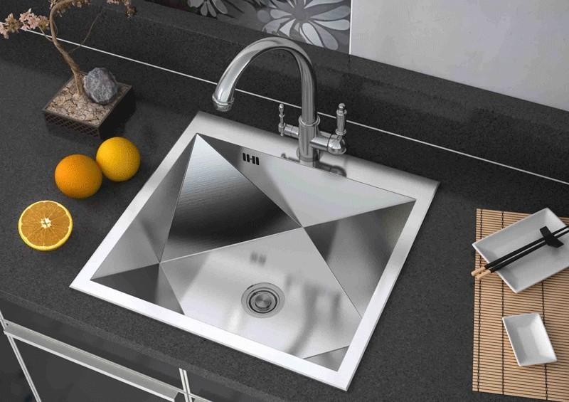 Современная мойка для кухни: цвета, модели и фактура