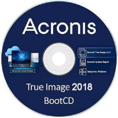 Acronis True Image 2018 22.5.1 Build 10410 Final + BootCD