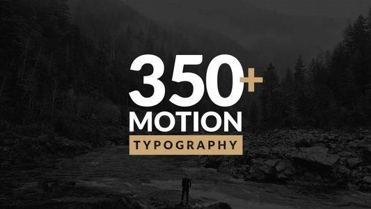 Проекты - VideoHive - Motion Typography - 20645019 [AEP]