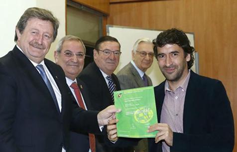 Со вчерашнего дня Рауль официально спортивный директор
