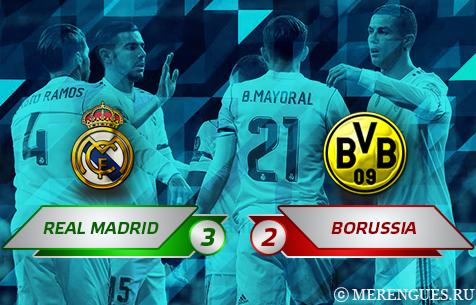 Real Madrid C.F. - BV Borussia Dortmund 3:2