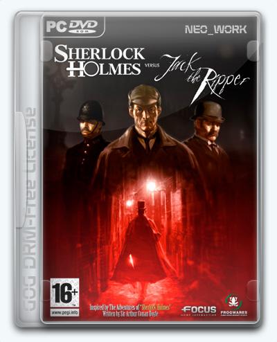 Sherlock Holmes versus Jack the Ripper / Шерлок Холмс против Джека Потрошителя (2009) [Ru/Multi] (1.0) License GOG